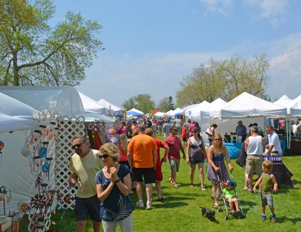 2018 memorial weekend arts crafts show craft shows for Craft show in michigan